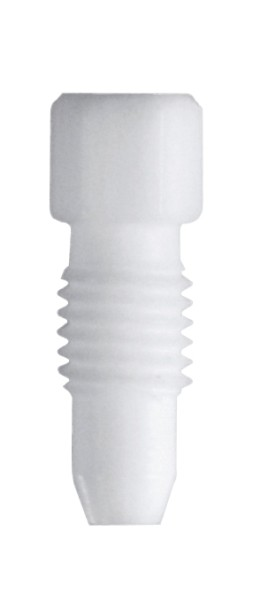 PTFE Fitting, 2,3 mm AD, weiss