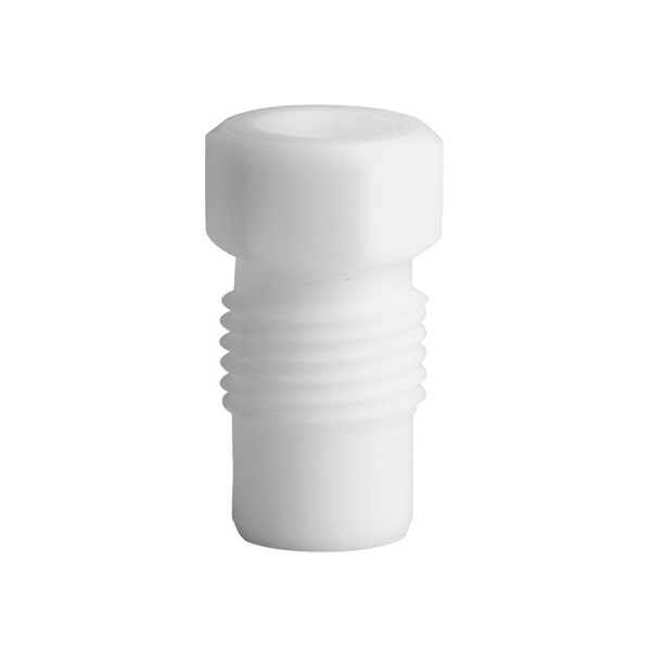 PTFE Fitting, 6,35 mm AD, weiss