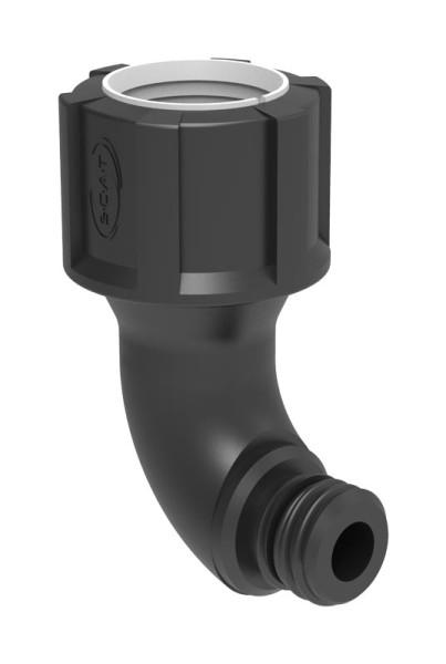 Ellbogenstück, (ID) 32 mm auf GL25 (m)