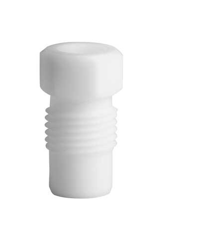 PTFE Fitting, 6 mm AD, weiss