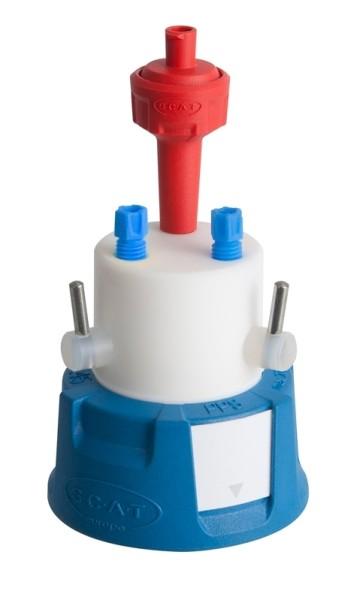 SafetyCapII, V2.0, GL45, mit Absperrhahn