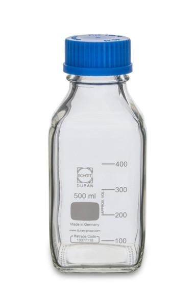 Laborflasche DURAN, GL45, 500 ml